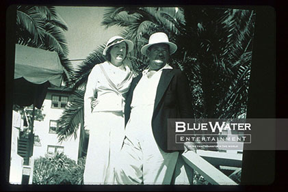 OLIVE HARDY AND HIS WIFE