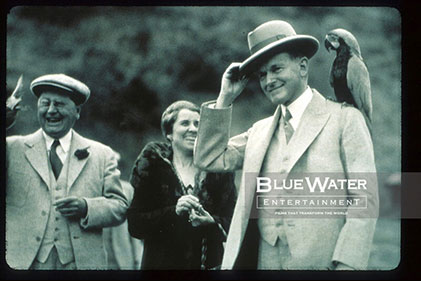William Wrigly Jr & Calvin Coolidge